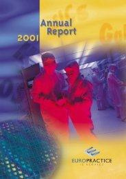 Annual report 2001 - Europractice-IC