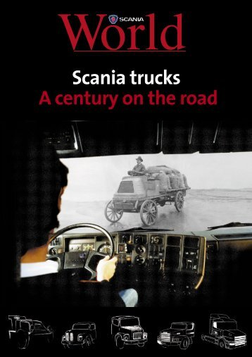 Scania trucks A century on the road