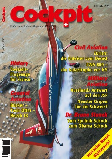 Military Aviation Civil Aviation Dr. Bruno Stanek General ... - Cockpit