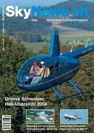 Grosse Schweizer Heli-Übersicht 2004 - SkyNews.ch