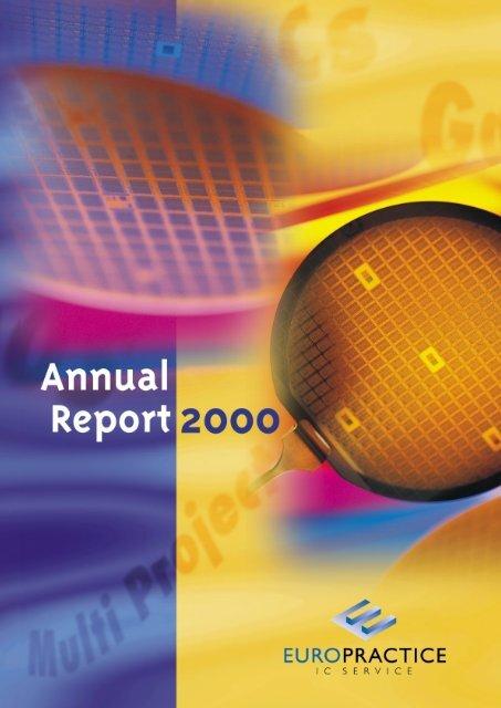 Annual report 2000 - Europractice