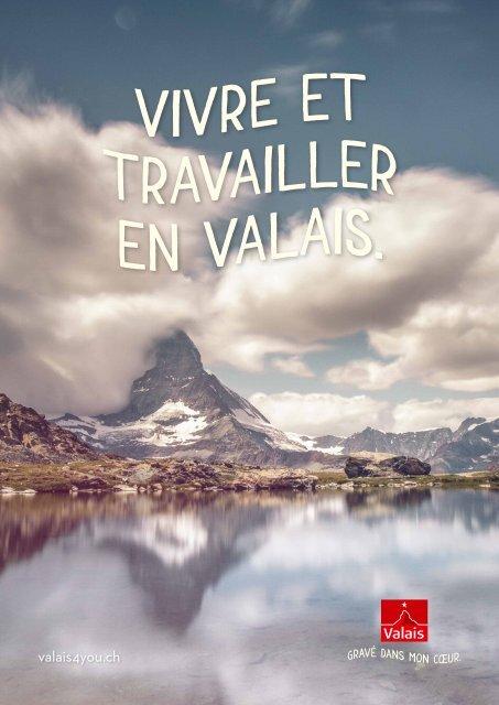 Vivre et travailler en Valais