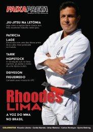 Rhoodes Lima, a voz do MMA no Brasil