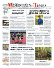 Mountain Times - Volume 49, Number 33 - Aug.12-18, 2020