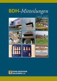Interfob 2011 - Bund Deutscher Holzwirte eV