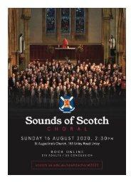 Sounds of Scotch Choral 2020