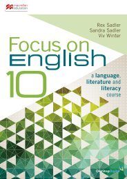 Focus on English 10 Student Book