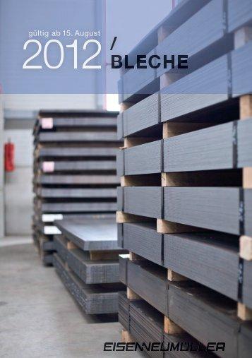Lagerliste 0812 Bleche - pdf