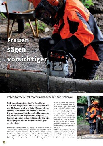 Frauen sägen vorsichtiger - Forsthaus Roderbirken