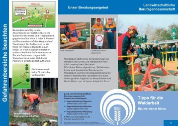 Tipps für die Waldarbeit