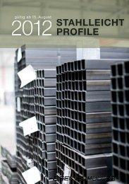 Lagerliste 0812 Stahlleichtprofile - pdf