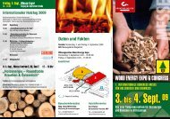 Wood Energy Expo & Congress - BFW