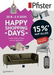 Flyer Happy Shopping Days DE