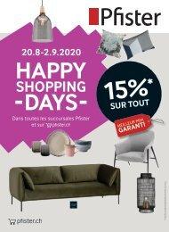 Flyer Happy Shopping Days FR