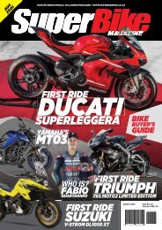 SuperBike Magazine August 2020