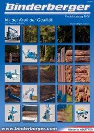 Standard Equipment - Binderberger