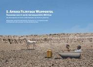 5. Afrika-Filmtage Wuppertal