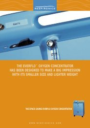 THE EVERFLO™ OXYGEN CONCENTRATOR HAS BEEN ...