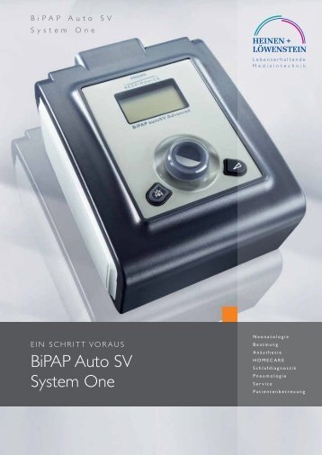 BiPaP auto Sv System one - Saegeling