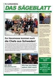 Das Sägeblatt Nr. 6 (2,42 MB) - bei Logosol Deutschland