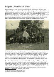 Eugenie Goldstern im Wallis (PDF, 3,7 MB - Albert Ottenbacher