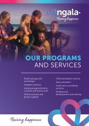NGALA Programs and Services