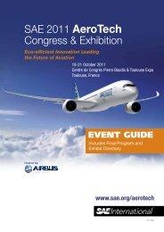 SAE 2011 AeroTech Congress & Exhibition