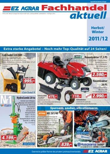 Fachhandel Aktuell - EZ AGRAR