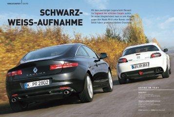 SCHWARZ- WEISS-AUFNAHME - Renault