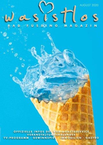 Was ist los Bad Füssing Magazin August 2020