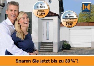 Sparen Sie jetzt bis zu 30 %**!