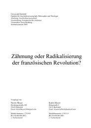 10. Die Diktatur der Jakobiner - Fehler/Fehler - Universität Bielefeld