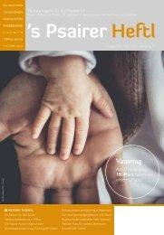 März Ausgabe 2020  s'Psairer Heftl - Monatsmagazin für das Passeiertal