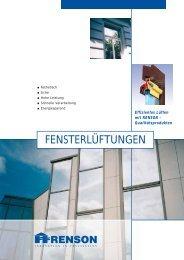 FENSTERLÜFTUNGEN - Holz-/Alu-Fenster - Twindows
