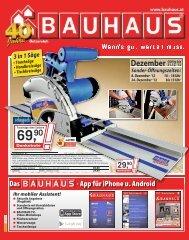 Dezember - Bauhaus