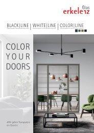 BlackLine neue Glastüren von Erkelenz