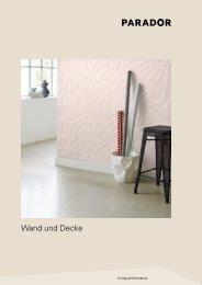 ClickBoard und Paneele von Parador