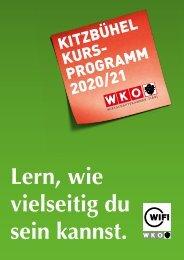 WIFI Kitzbühel Kursprogramm 2020/21