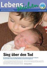 Lebenszeichen | 82 | Frühling 2009