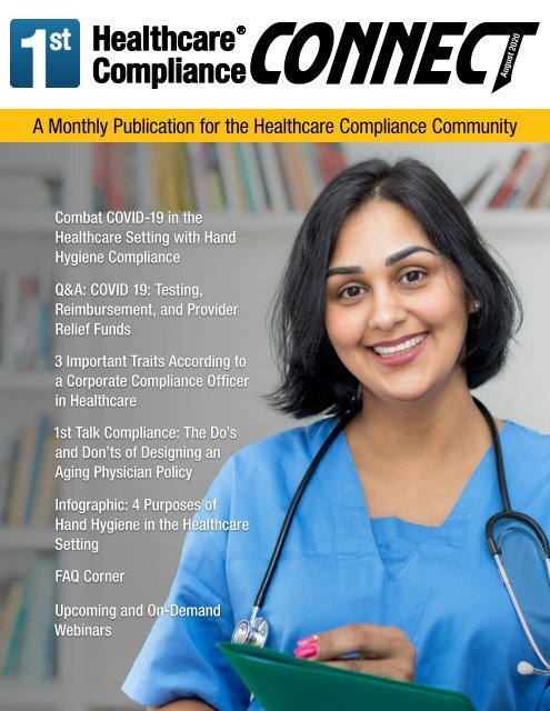 First Healthcare Compliance CONNECT August 2020