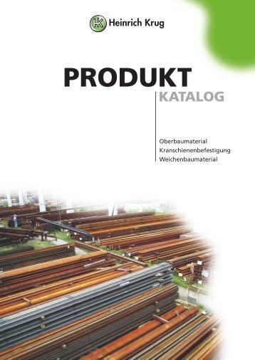 produkt katalog - Heinrich Krug GmbH & Co