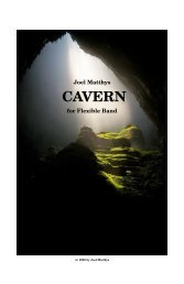 Cavern-full score