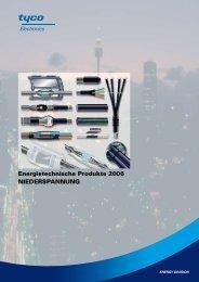 Energietechnische Produkte 2006 Niederspannung