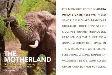 koppie - Southern Africa Travel