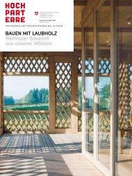 Hochparterre Nr. 11/2010: Bauen mit Laubholz ... - news.admin.ch