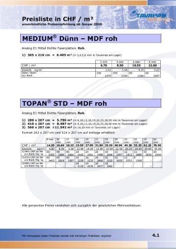TOPAN® Colour Black FF Fire Retardant MDF ... - CrossData-Tools