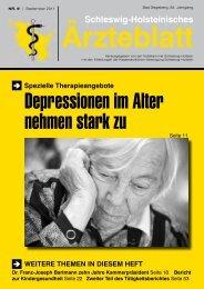 Fachberater - Schleswig-Holsteinisches Ärzteblatt