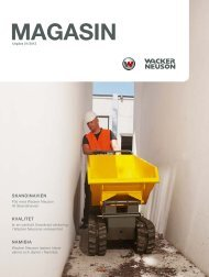 MAGASIN - Wacker Neuson