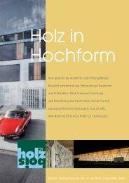 Bulletin 2006 (PDF 0.5 MB) - holz 21
