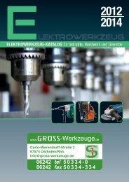 5 Akku-Maschinen/Werkzeuge - GROSS-Werkzeuge